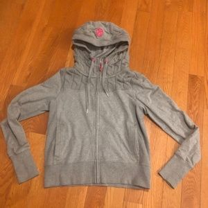 Lululemon Fireside Jacket cable knit hoodie 10